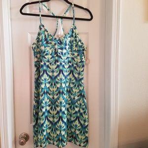 Tehama Green/Blue Athletic Dress